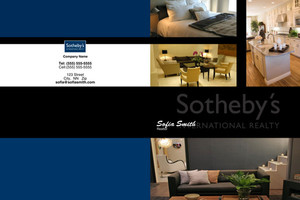 Sotheby Pocket Folders Template: 502031