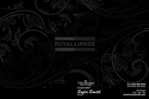 Button to customize design Royal LePage Pocket Folders Template: 530143