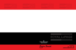 Button to customize design Royal LePage Pocket Folders Template: 530175