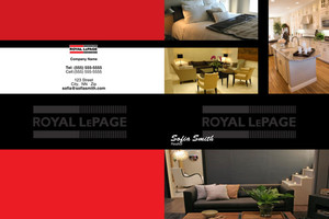 Button to customize design Royal LePage Pocket Folders Template: 500465