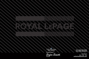 Button to customize design Royal LePage Pocket Folders Template: 530131