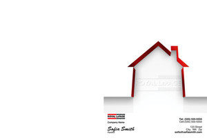 Button to customize design Royal LePage Pocket Folders Template: 500435