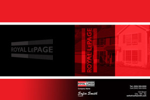 Button to customize design Royal LePage Pocket Folders Template: 500489
