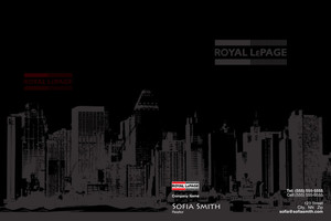 Button to customize design Royal LePage Pocket Folders Template: 504175