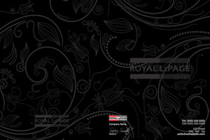 Button to customize design Royal LePage Pocket Folders Template: 500483