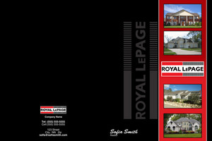 Royal LePage Pocket Folders Template: 500457