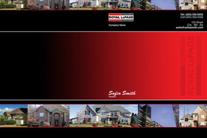Royal LePage Pocket Folders Template: 500427