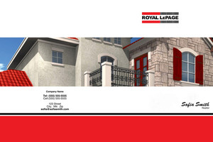 Royal LePage Pocket Folders Template: 500439