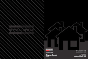 Royal LePage Pocket Folders Template: 500481