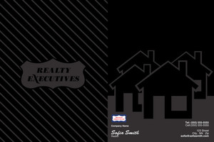 Realty Executive Pocket Folders Template: 504119