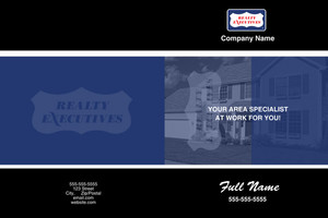Realty Executive Pocket Folders Template: 584105