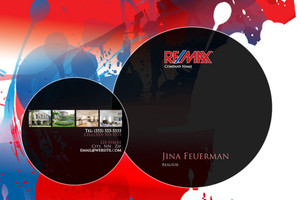Button to customize design Re/max , Remax Pocket Folders Template: 576613