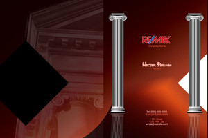 Button to customize design Re/max , Remax Pocket Folders Template: 576615