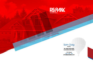 Button to customize design Re/max , Remax Pocket Folders Template: 576623