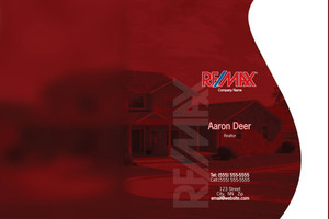 Button to customize design Re/max , Remax Pocket Folders Template: 576555