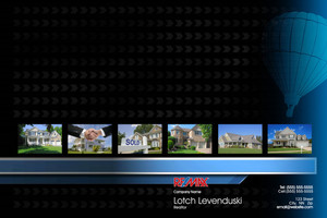 Button to customize design Re/max , Remax Pocket Folders Template: 576657