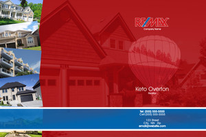 Button to customize design Re/max , Remax Pocket Folders Template: 576659