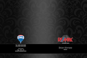 Button to customize design Re/max , Remax Pocket Folders Template: 576663