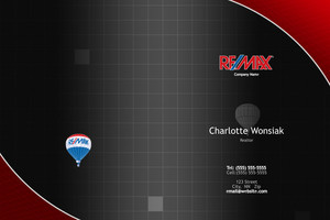 Button to customize design Re/max , Remax Pocket Folders Template: 576665