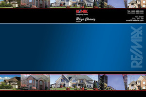 Button to customize design Re/max , Remax Pocket Folders Template: 499499