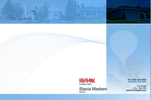 Button to customize design Re/max , Remax Pocket Folders Template: 576583