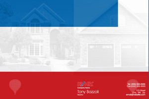 Button to customize design Re/max , Remax Pocket Folders Template: 576585