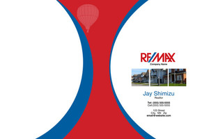 Button to customize design Re/max , Remax Pocket Folders Template: 576587