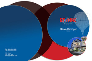 Button to customize design Re/max , Remax Pocket Folders Template: 576589
