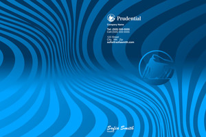 Button to customize design Prudential Pocket Folders Template: 503059