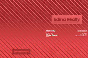 Edina Pocket Folders Template: 501519