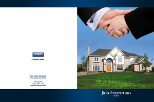 Button to customize design Coldwell Banker Pocket Folders Template: 489201