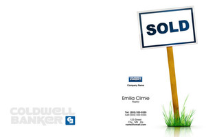 Button to customize design Coldwell Banker Pocket Folders Template: 489203