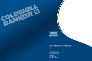 Button to customize design Coldwell Banker Pocket Folders Template: 489231