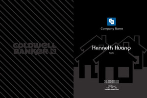 Button to customize design Coldwell Banker Pocket Folders Template: 489251