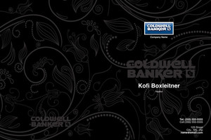 Button to customize design Coldwell Banker Pocket Folders Template: 489253