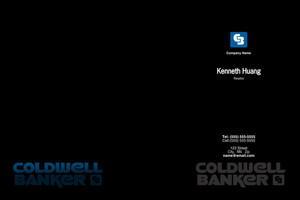 Button to customize design Coldwell Banker Pocket Folders Template: 502863
