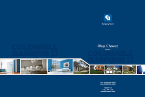 Button to customize design Coldwell Banker Pocket Folders Template: 489195