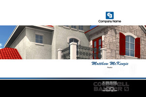 Button to customize design Coldwell Banker Pocket Folders Template: 489211