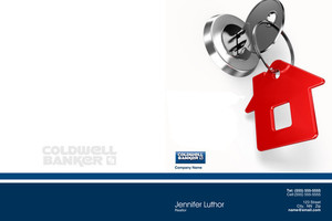 Button to customize design Coldwell Banker Pocket Folders Template: 489243