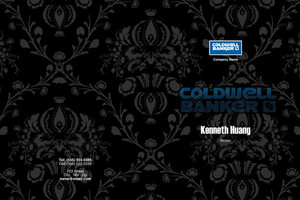 Button to customize design Coldwell Banker Pocket Folders Template: 502873