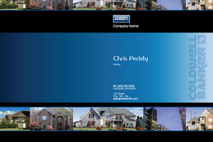 Button to customize design Coldwell Banker Pocket Folders Template: 489199