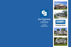 Button to customize design Coldwell Banker Pocket Folders Template: 341753