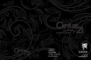Century 21 Pocket Folders Template: 480621