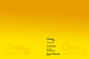 Century 21 Pocket Folders Template: 502803