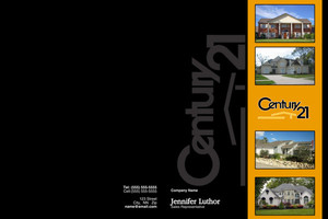 Century 21 Pocket Folders Template: 480593