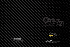 Century 21 Pocket Folders Template: 480623