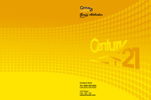 Century 21 Pocket Folders Template: 502811