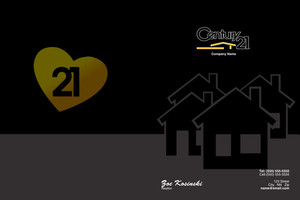Century 21 Pocket Folders Template: 502837
