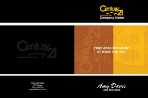 Century 21 Pocket Folders Template: 584081