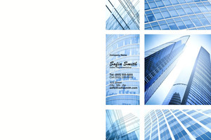 Commercial Building Pocket Folders Template: 329003